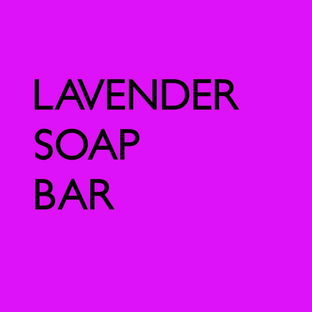 The Soap Artisan - Lavender Bar Soap