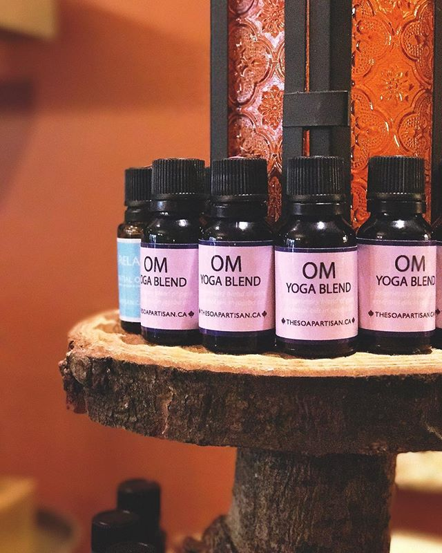 We are so excited to share with you our NEW essential oil blend. OM YOGA BLEND is purposed to bring you peace and clarity. The incredibly sacred tree, Palo Santo, native to South America, has been regarded for centuries as natural healer. It's spicy, sweet, and woodsy aroma will calm your mind and centre your spirit. To harvest this precious oil from #PaloSanto, farmers must wait until the branches from the tree have fallen naturally. The tree may never be cut by hand, as it would be profane. We have taken this sacred oil and created a proprietary blend in jojoba oil. Use this oil in your daily #Yoga practise, rub a drop under your nose to ease #Anxiety and #Depression, or to help you have a restful #Sleep. We are sure you will love it! 💛🌝💛 🆕 #AllNatural #Healing #EssentialOil #TheSoapArtisan #FindYourCalm #ColdPressed #NaturalSoap #HandmadeSoap #MadeWithLove #HoneySoap #OatmealSoap #SoapShare #ChemicalFree #SLSFree #ParabenFree #VancouverMade #604 #Local #Vancouver #YVR