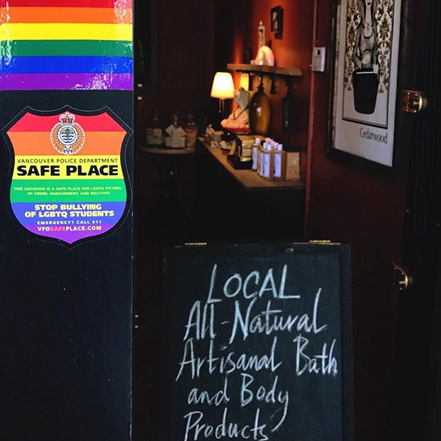 🌈 We take great PRIDE in being a safe and inclusive space for LGBTQ community members. We do not exclude in our shop 💓 Kindness and love will never fail to bring joy to your life, and the lives of others. It is an amazing thing! Happy Pride, Vancouver!!! Have an exciting and safe weekend 😃🌈☺️
