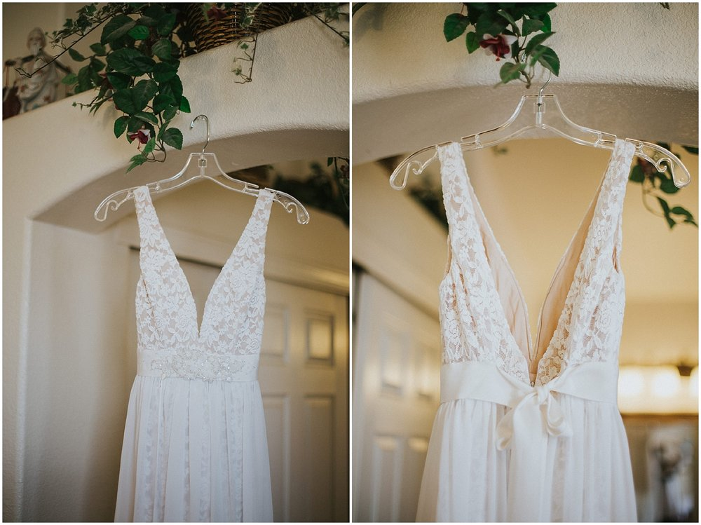 Wedding Dress Inspiration at this Backyard Albuquerque Elopement | Downtown Contemporary Art Studio | Albuquerque, New Mexico | Jasper K Photography