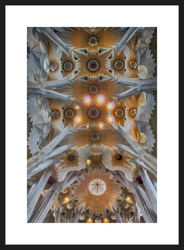 Sagrada Família - Impressão em Papel Fotográfico Kodak FoscoMoldura não incluída20x30cm - R$6930x45cm - R$8140x60cm - R$10060x90cm - R$137