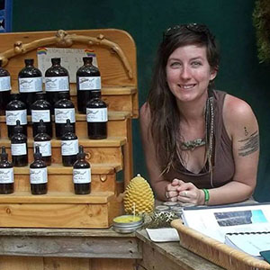 Mel Kasting is a graduate of the Columbines School of Botanical Studies, a budding community educator, and an advanced student with the Eclectic School of Herbal Medicine. She has a small sliding scale clinical practice based in St. Louis, Missouri and formulates all of her own medicines. Mel's passion, in the clinic and community, is education.  She wants to open an herb school someday.