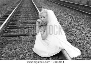 Just waiting for the marriage train to pick me up...or run me over