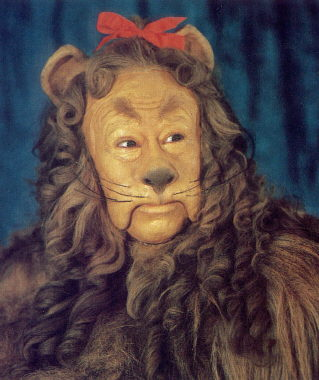 Cowardly Lion says texting is A-Okay!