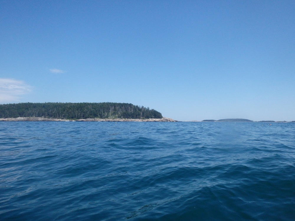 Approach between Matinicus and Ragged Islands
