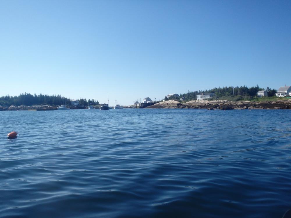Leaving Matinicus Harbor