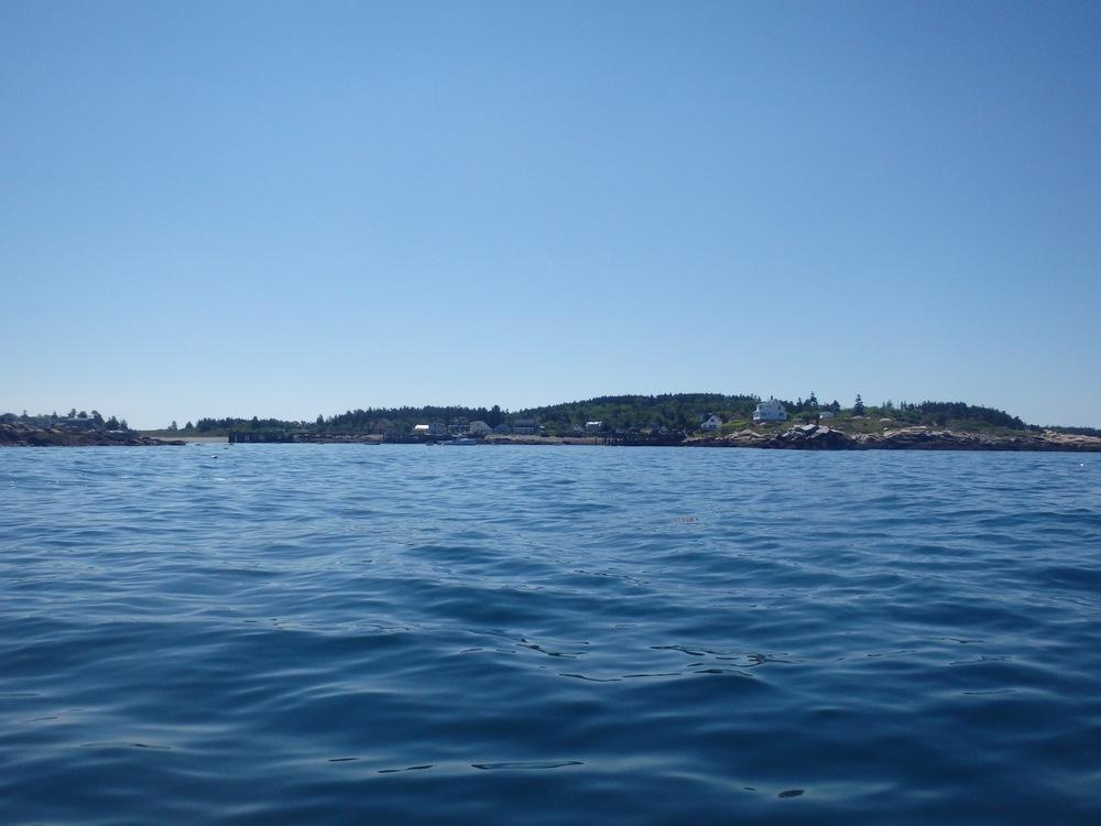 Approaching Criehaven