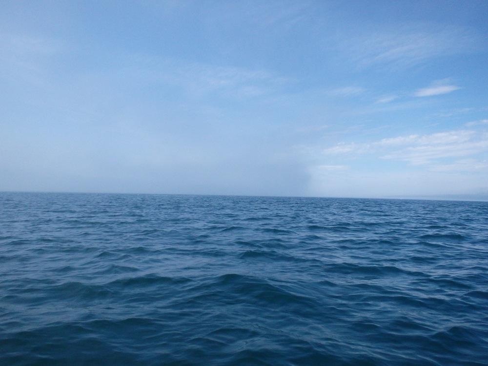 Approaching fog