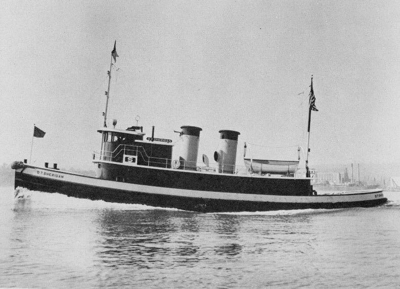 D.T. Sheridan prior to grounding