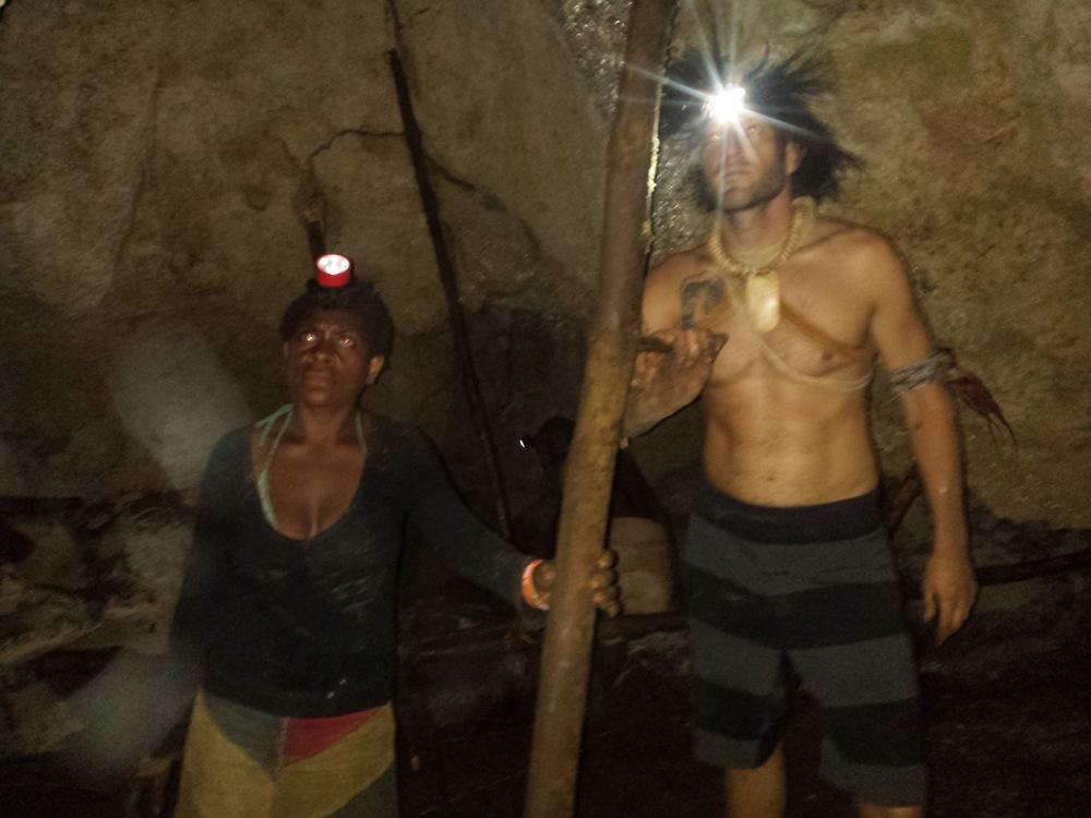 Inside Papua New Guinea Cave