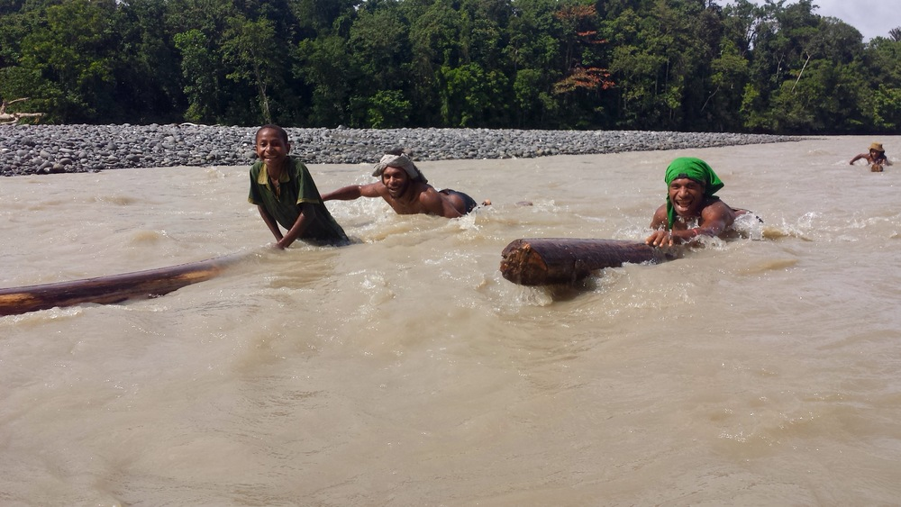 Kikori River-Papua New Guinea