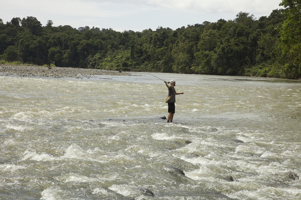Fly Fishing Libano River-Papua New Guinea