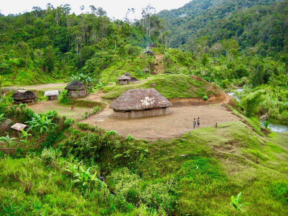 Traditional Papua New Guinea Villages