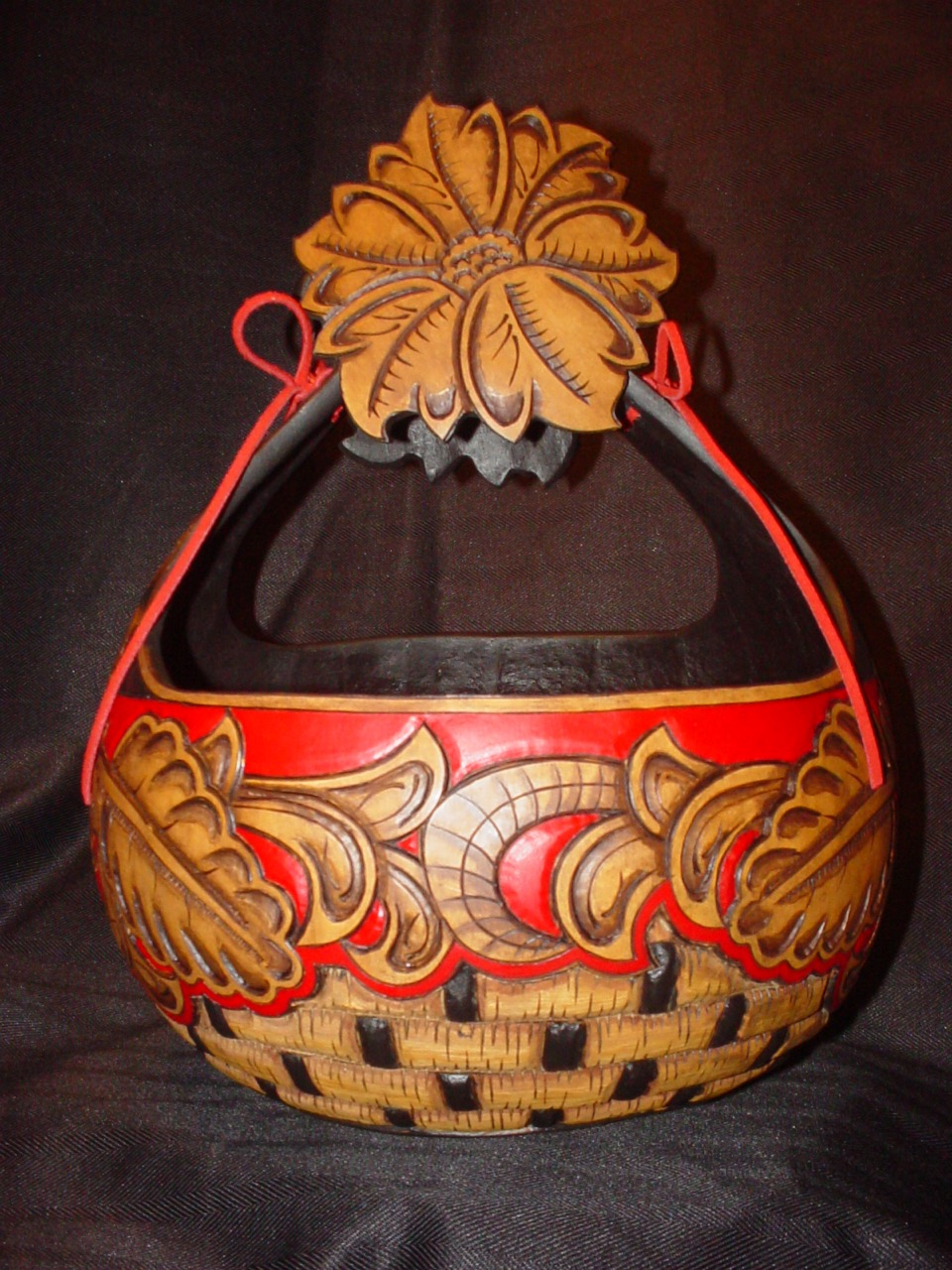 Red Riding Hood Basket (front)