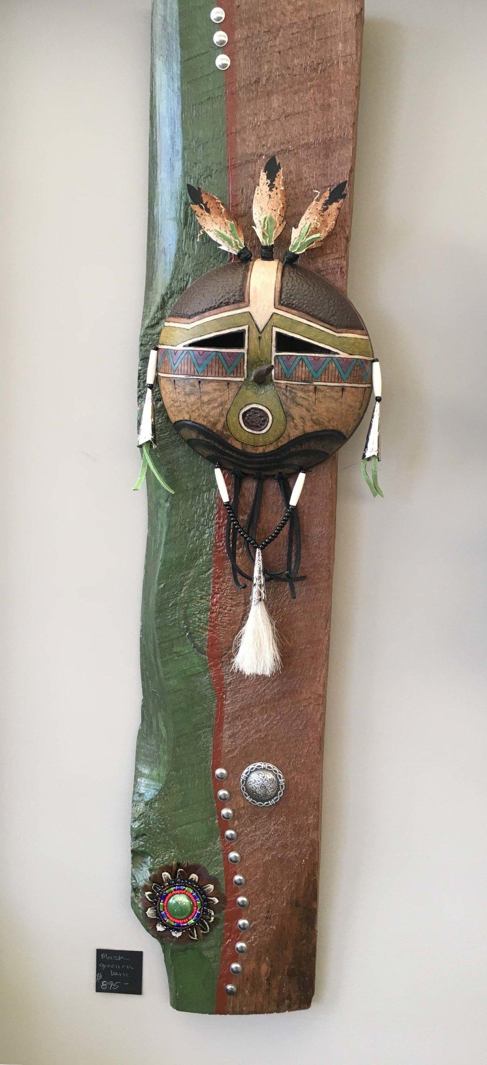 Mask on short board