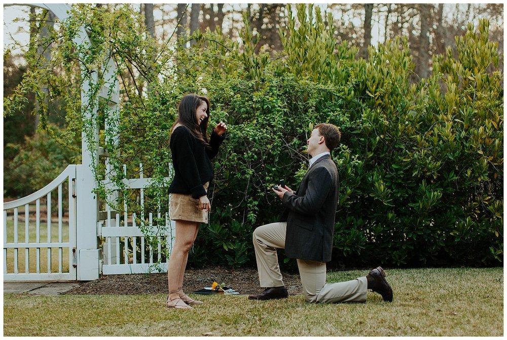 BIRMINGHAM BOTANICAL GARDENS | Proposal | Atlanta Wedding Photographer | Madalynn Young Photography_0028.jpg
