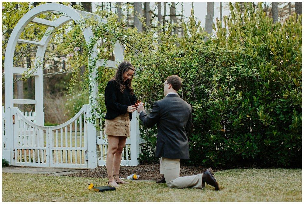 BIRMINGHAM BOTANICAL GARDENS | Proposal | Atlanta Wedding Photographer | Madalynn Young Photography_0017.jpg