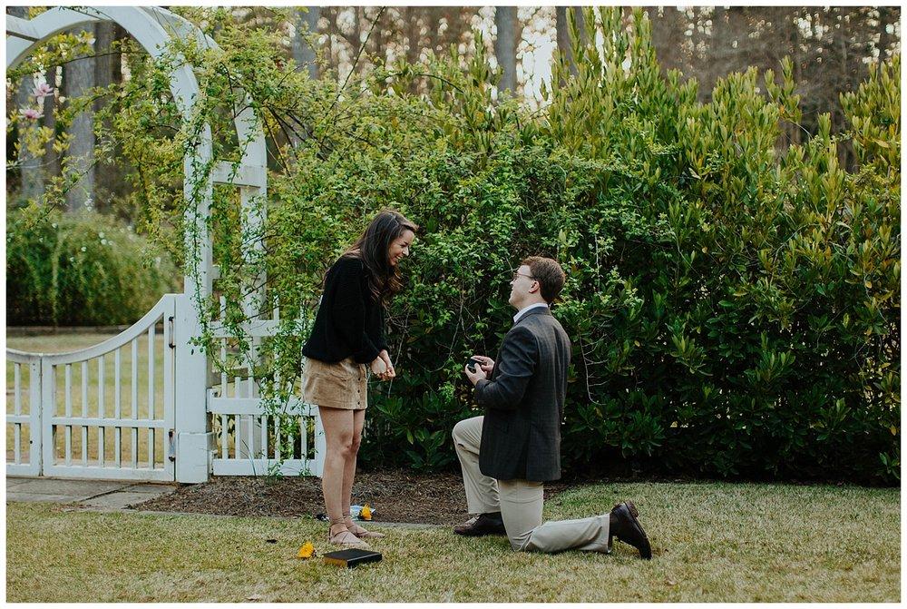 BIRMINGHAM BOTANICAL GARDENS | Proposal | Atlanta Wedding Photographer | Madalynn Young Photography_0015.jpg