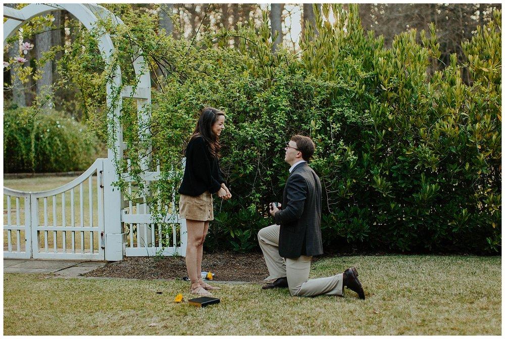 BIRMINGHAM BOTANICAL GARDENS | Proposal | Atlanta Wedding Photographer | Madalynn Young Photography_0014.jpg