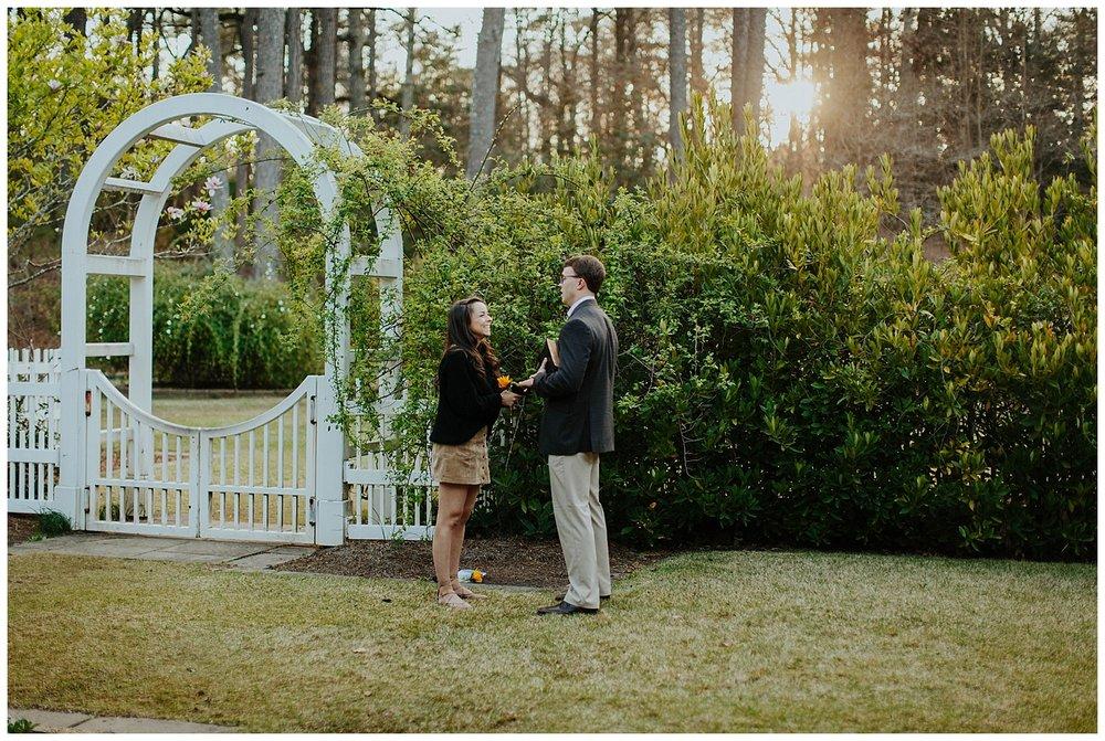 BIRMINGHAM BOTANICAL GARDENS | Proposal | Atlanta Wedding Photographer | Madalynn Young Photography_0012.jpg