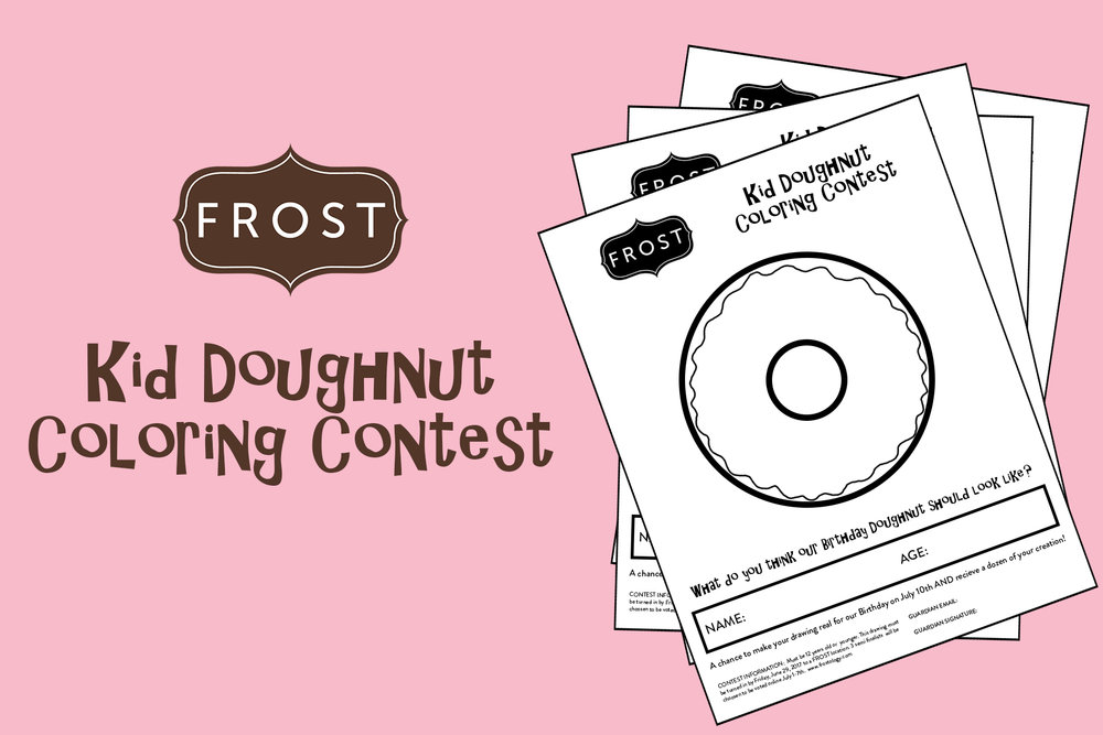 Kid Coloring Contest! — FROST