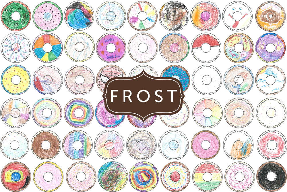 Top 3 Kid Coloring Contest, place your vote! — FROST