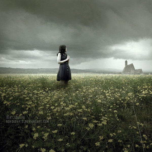 Do you ever wish to be invisible, but when you are, feel desperate to be noticed?  In the Fields