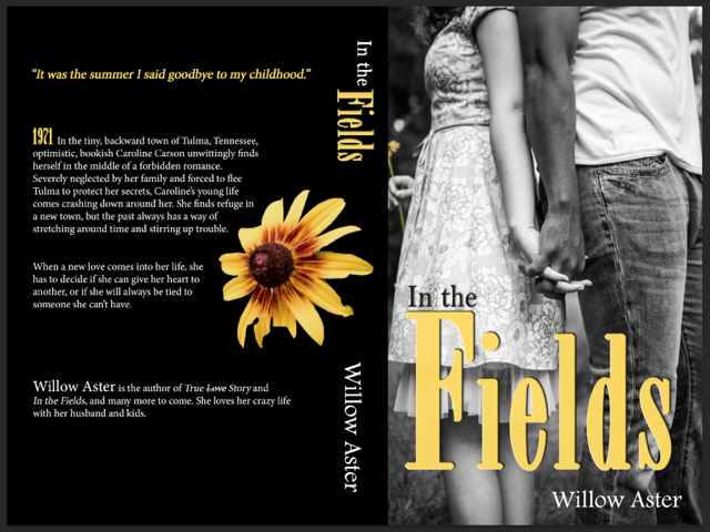 Look at the new cover for In the Fields! I'm loving it. I think the picture says so much. If you haven't read the book yet, I hope you'll give it a try. And then please leave a review on Amazon, if you don't mind. It makes a huge difference!