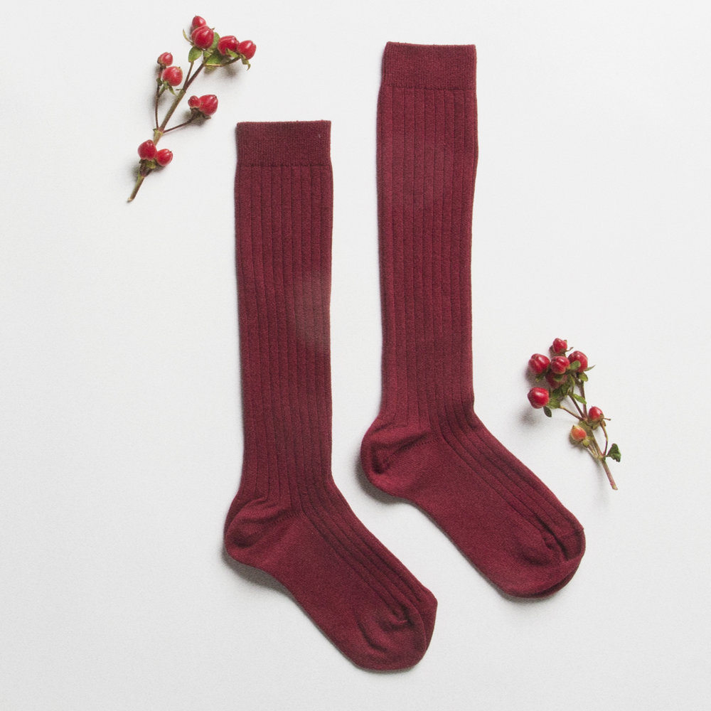 Socks - Burgundy.jpg