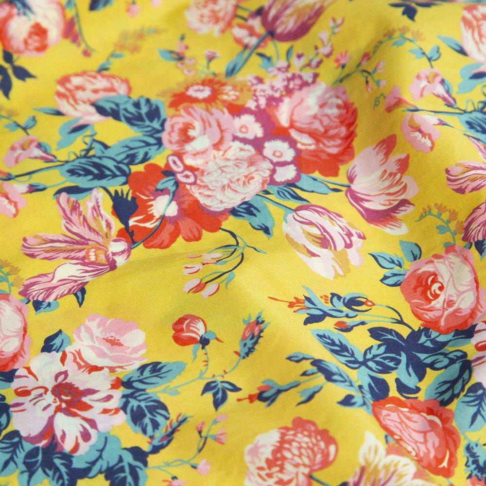 Fabric - Yellow Liberty.jpg