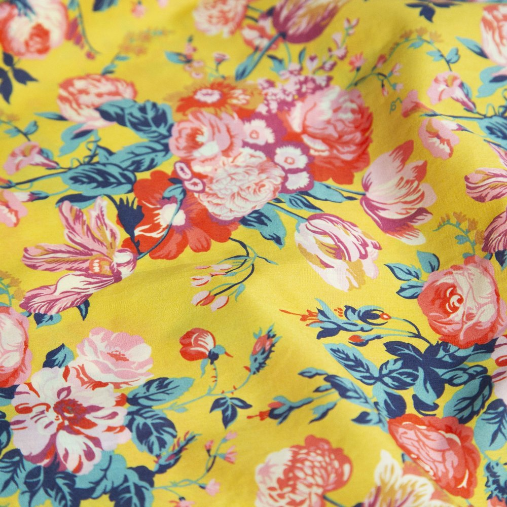 Fabric - Yellow Liberty.jpg