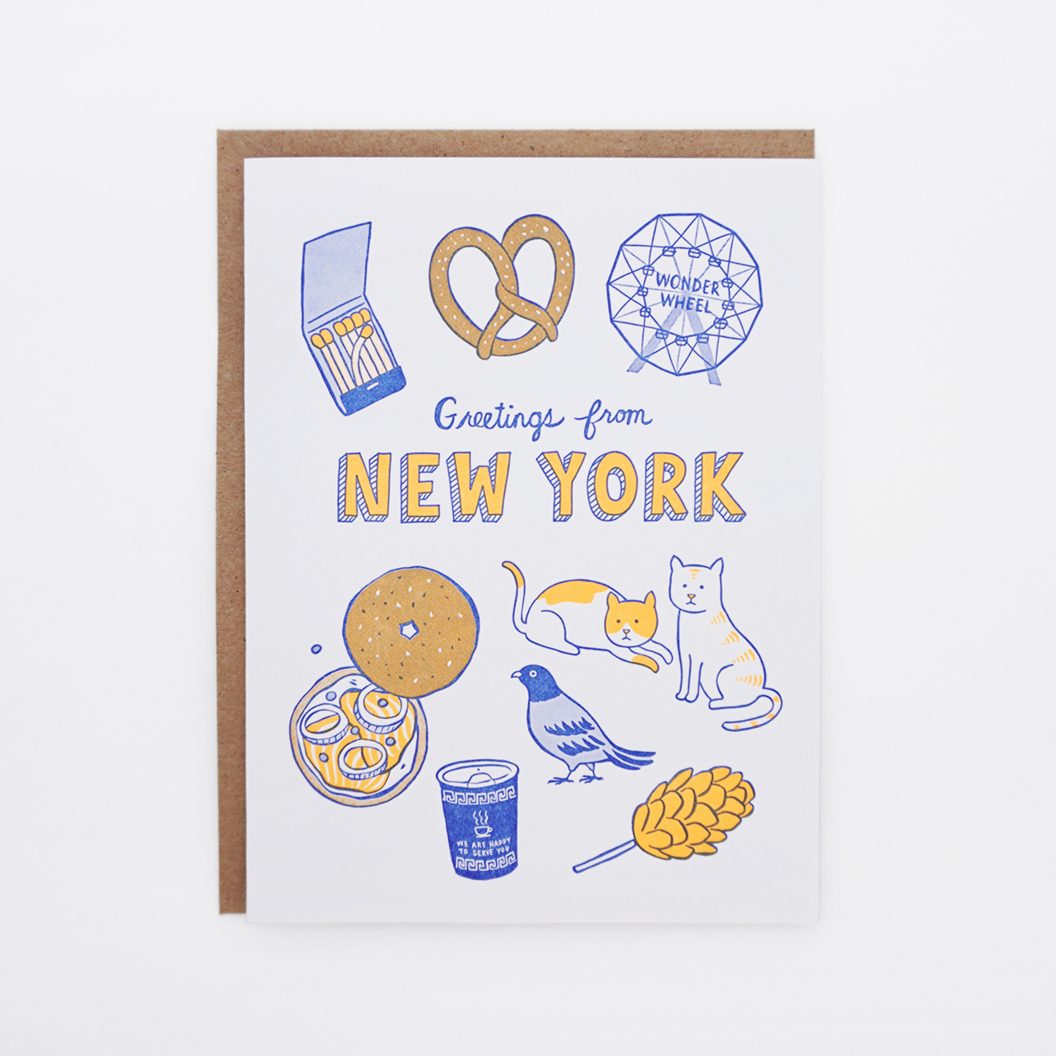 C200 Greetings From New York Lucky Horse Press