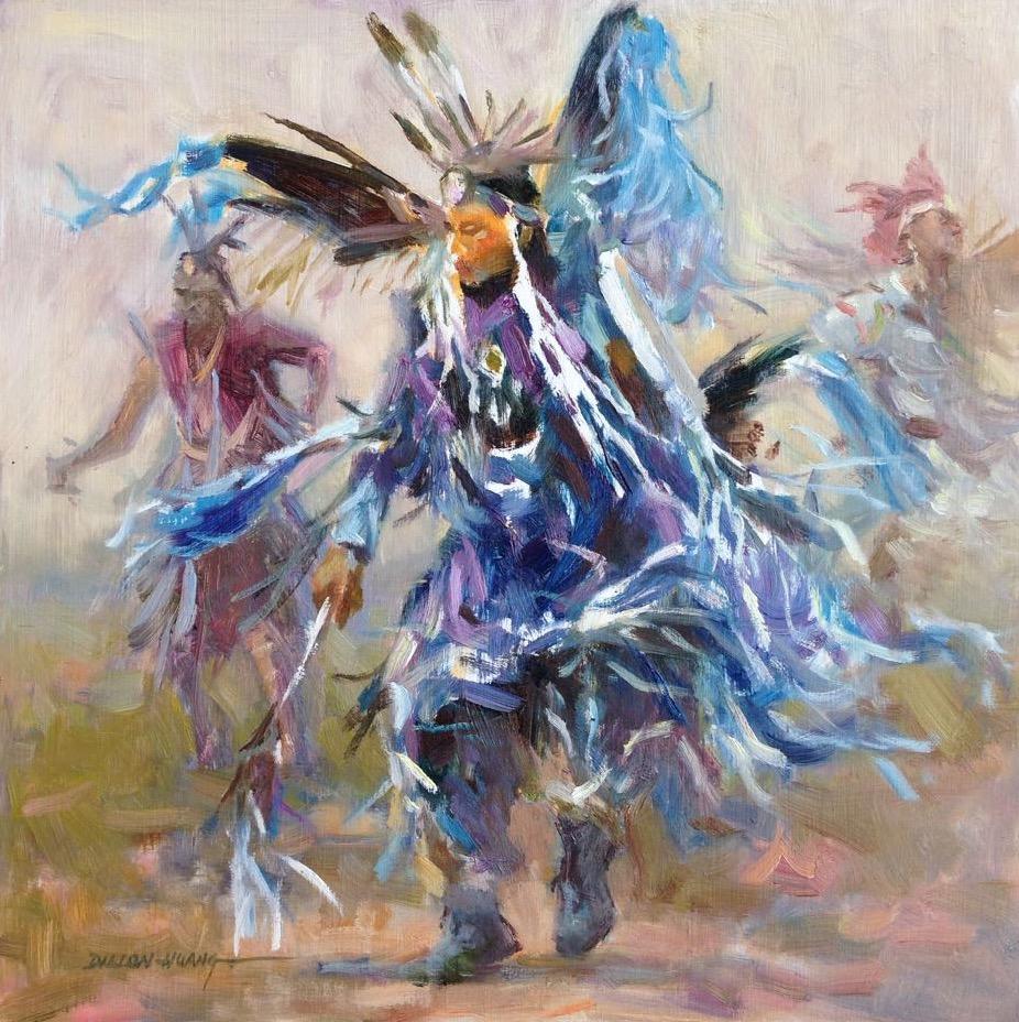 Dance | Oil | 12 x 12 | $1,175 USD