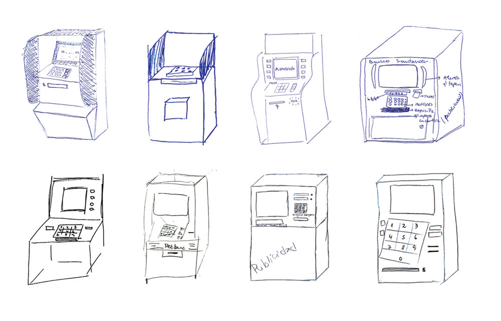 8 of 37 ATM illustrations | ATM test - Adolfo Ibáñez University, Santiago, Chile.