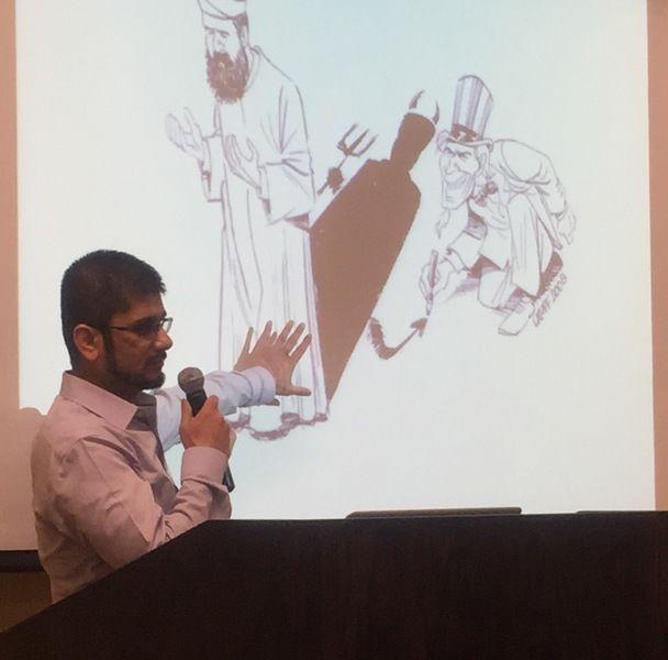 Moben Mirza, MD.  Photo by Mary Ann Redeker, Emporia Gazette