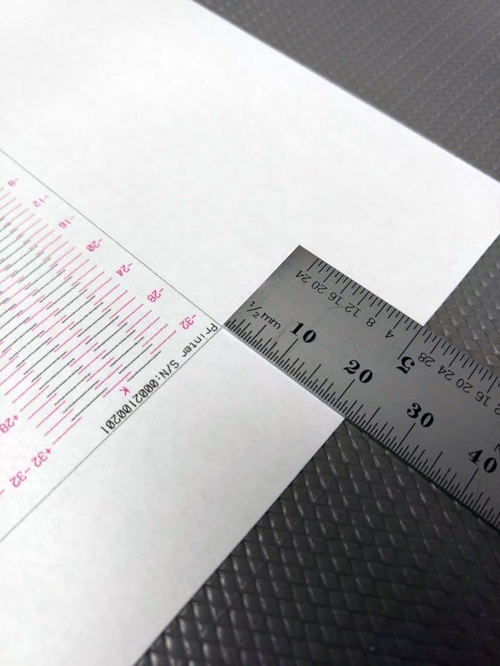 Figure 26: Leading edge gap measurement