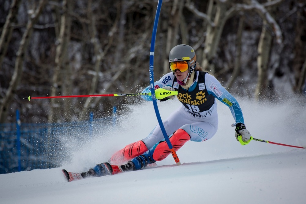 Resi crushes at the Aspen Winternational in November 2015.