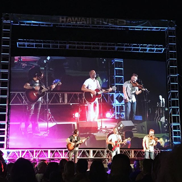 @dariusrucker killin it tonight... #hawaiifive0 #H50