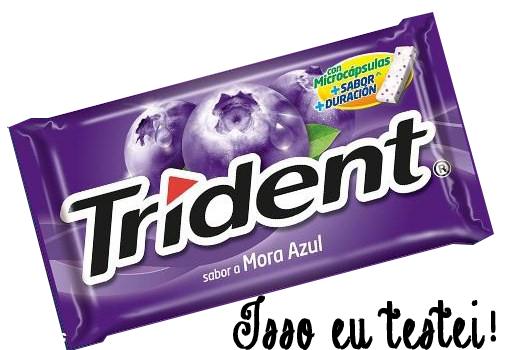 Este você encontra nas gringas também, acho que ainda não chegou no Brasil :/ Vamos torcer e pedir!! #tridentmoraazuljá