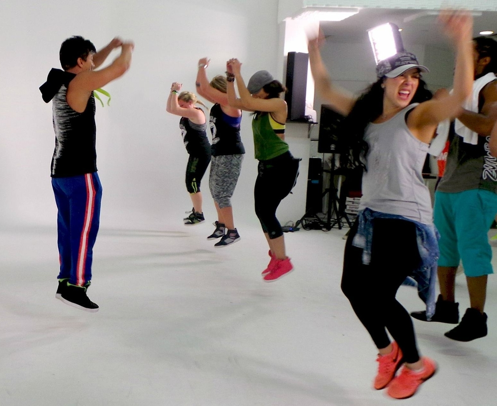 VIDEO SHOOT MIAMI ZUMBA HQ