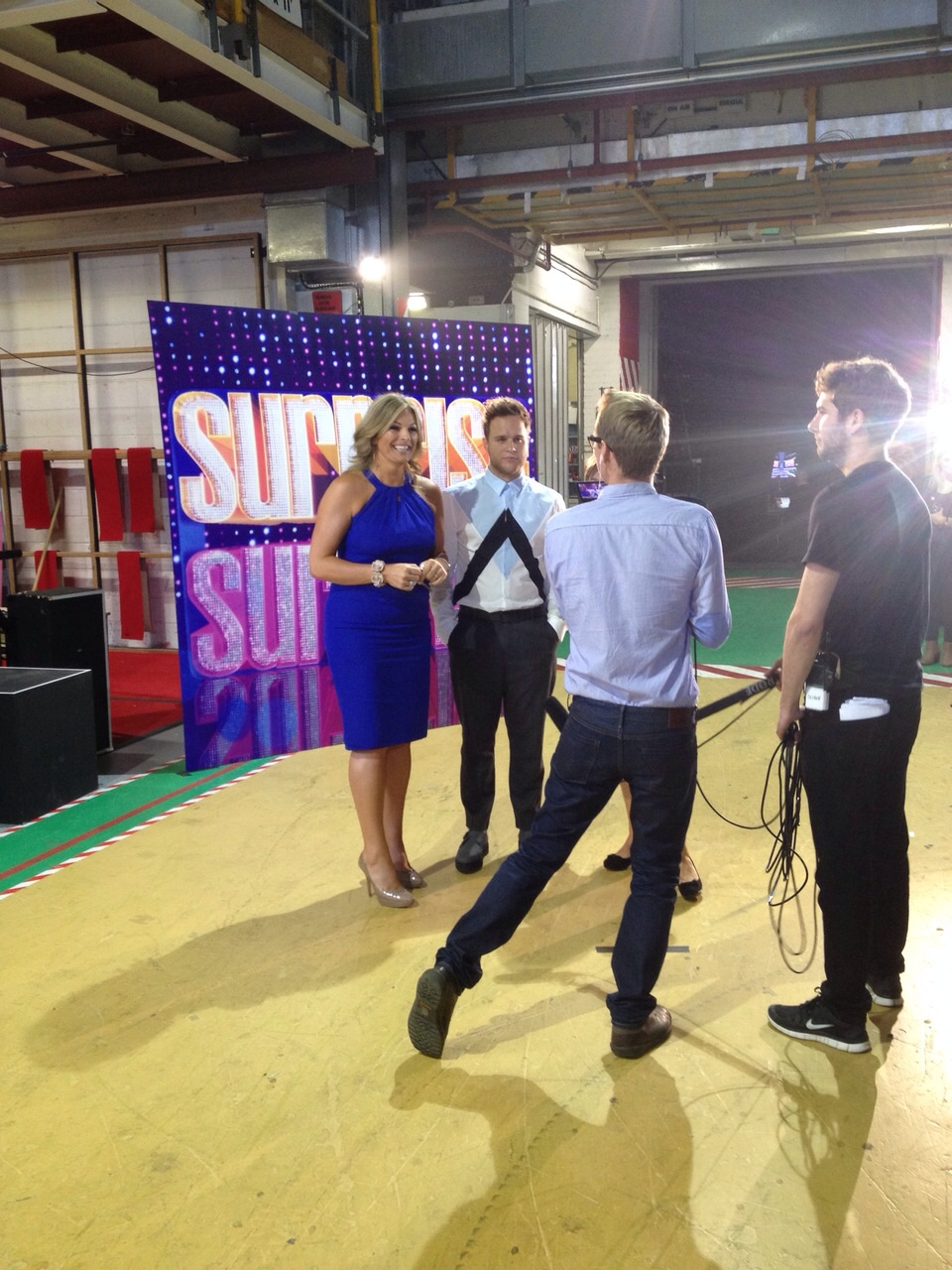BACK STAGE INTERVIEW WITH OLLY MURS