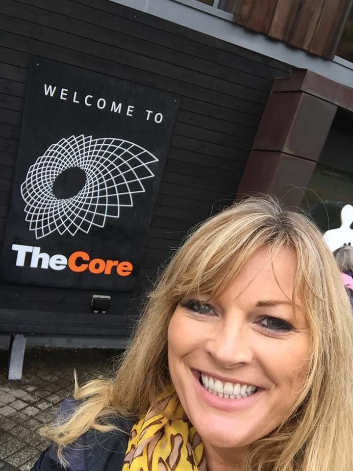 Wouldn't be an Eden visit without seeing 'The Core'!