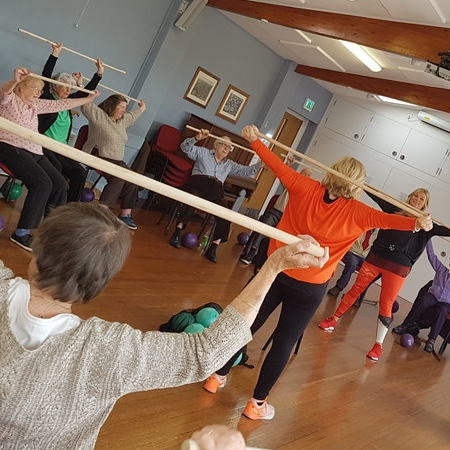 Strength & Balance Class - Classes are held at the following venues:Wesley Buildings Redruth on Mondays at 11amCarnon Downs Village Hall on Mondays at 1.00 pmCarnon Downs Village Hall on Fridays at 10.15 am