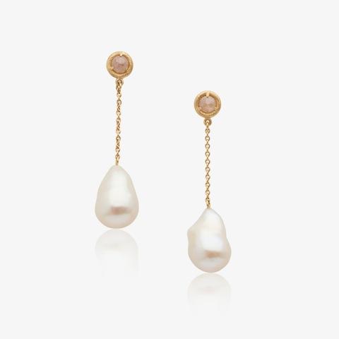 Mikala Djorup ' Circle' Diamond earrings with pearls.jpeg