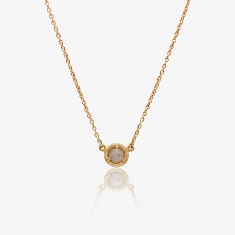 Mikala Djorup 'Circle' facetted grey diamond and 18 ct. gold necklace.jpeg
