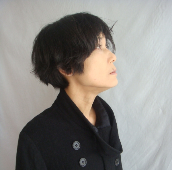 Rie Taniguchi - a thoughtful and thought-provoking jewellery and object maker. Modelling clothing by partner Ian Batten.