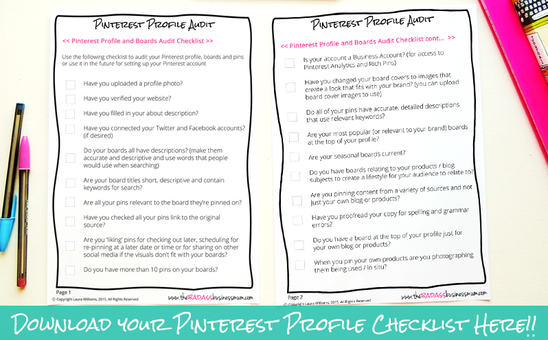 Want to optimise your Pinterest profile to attract the attention of your new Introvert super-fans? Thought you did! Download your Free checklist and get ticking those boxes today!