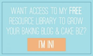 Get access to the FREE Resource Library for Baking Blogs and Cake Businesses at Knead to Dough