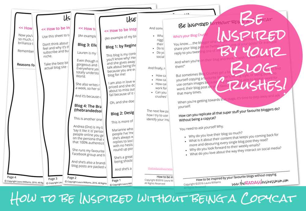 Have you ever thought about why you love your favourite blogs so much? Find out how to use your blog crushes to improve your own Blog
