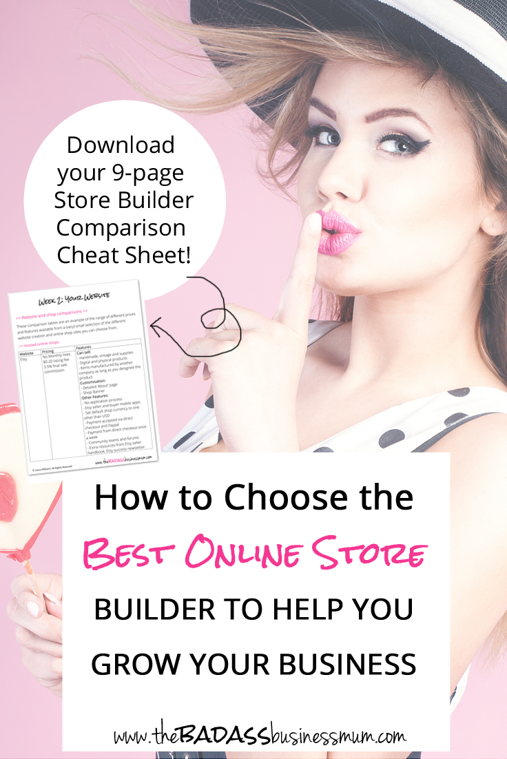 There are a million and one different places and methods of creating your own website and/or online shop. Find out how to find out to work out which option is best for you. And download your free site building comparison guide and worksheet.